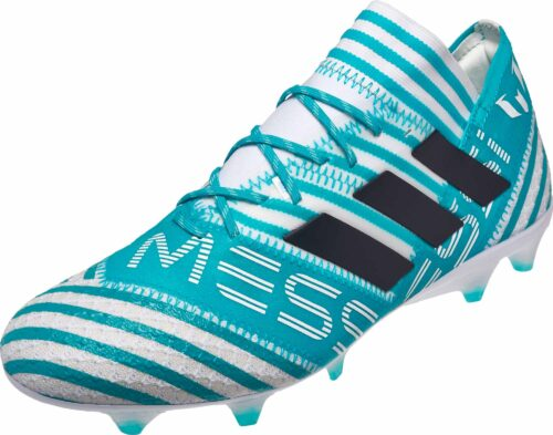 adidas Nemeziz Messi 17.1 FG – White/Legend Ink