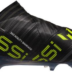 on sale dbe6c f063e adidas Nemeziz Messi 17 360Agility FG - Black   Solar Yellow