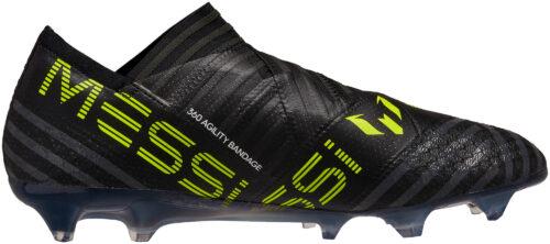 adidas Nemeziz Messi 17  360Agility FG – Black/Solar Yellow