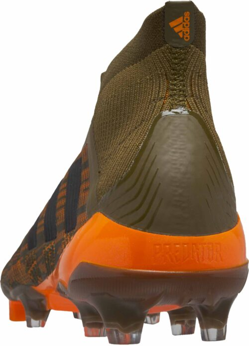 adidas Predator 18  FG – Trace Olive/Burnt Orange