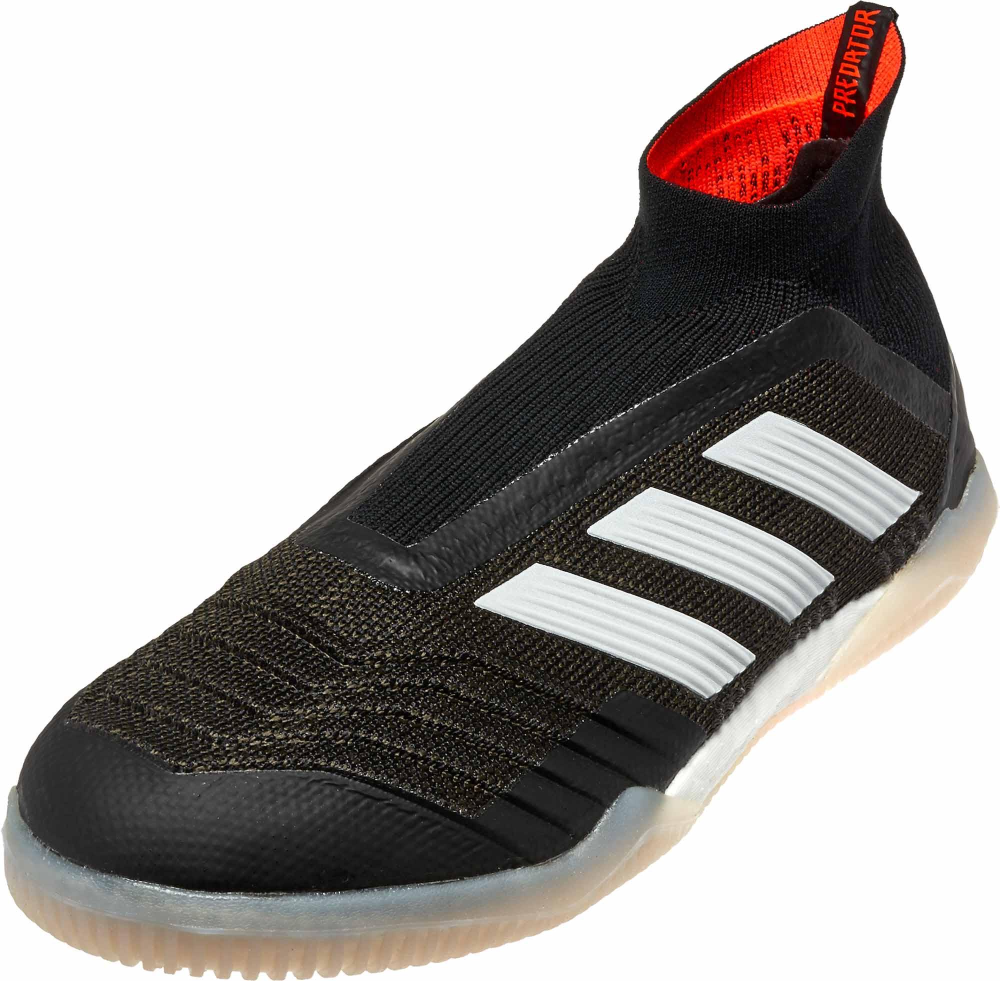 adidas Predator Tango 18 IN Black Indoor Soccer Shoes