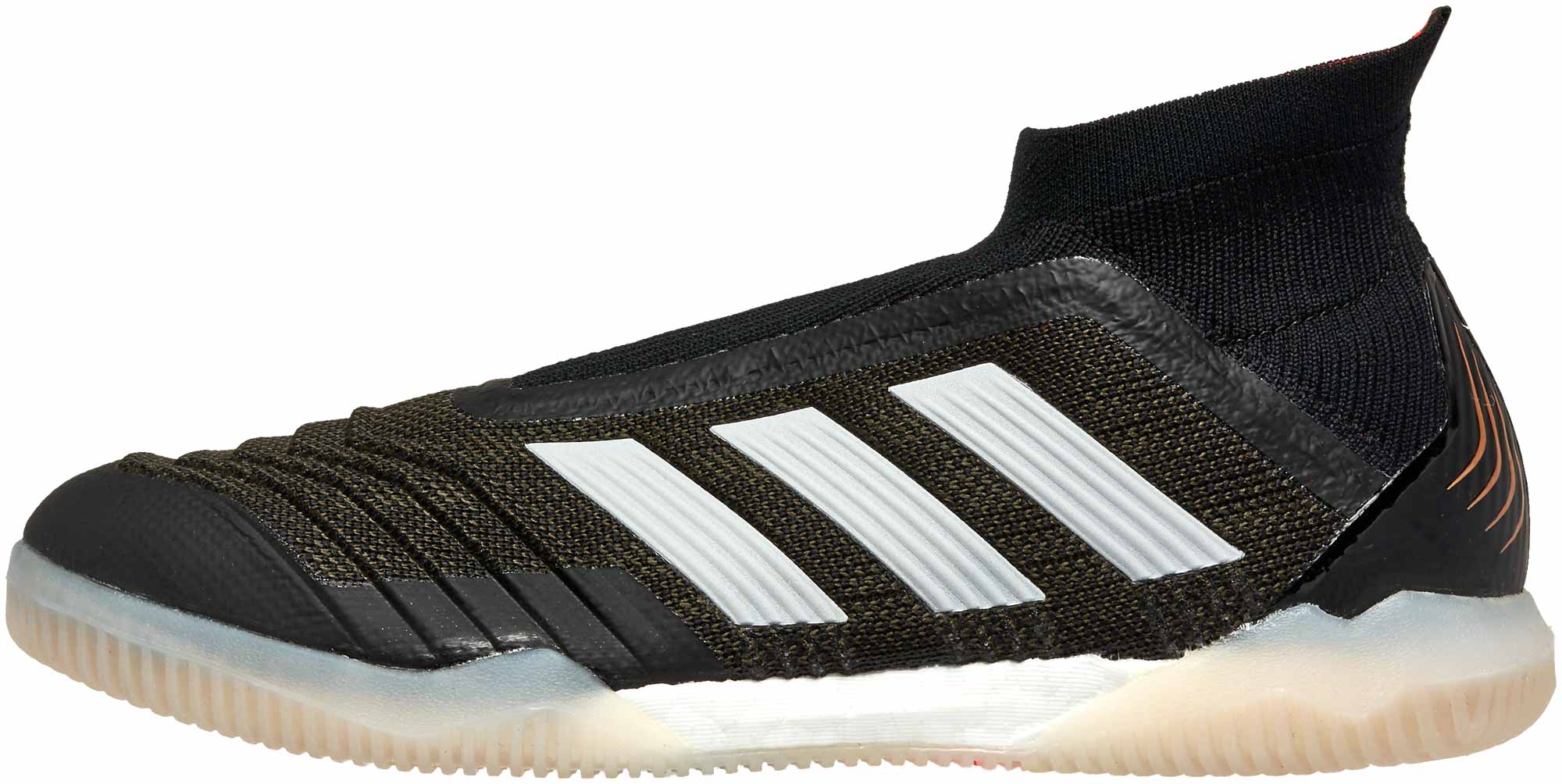 Adidas Black On Black Youth Soccer Shoes