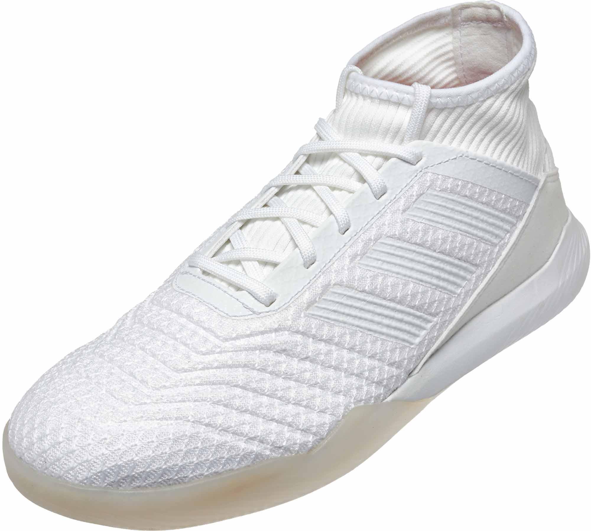 a81684ed5fab3d adidas Predator Tango 18.3 TR - White Turf Soccer Shoes