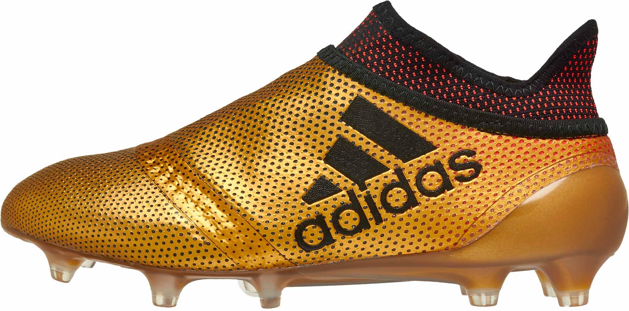 3515d1763fe9 adidas Kids X 17 FG – Tactile Gold Metallic/Solar Red