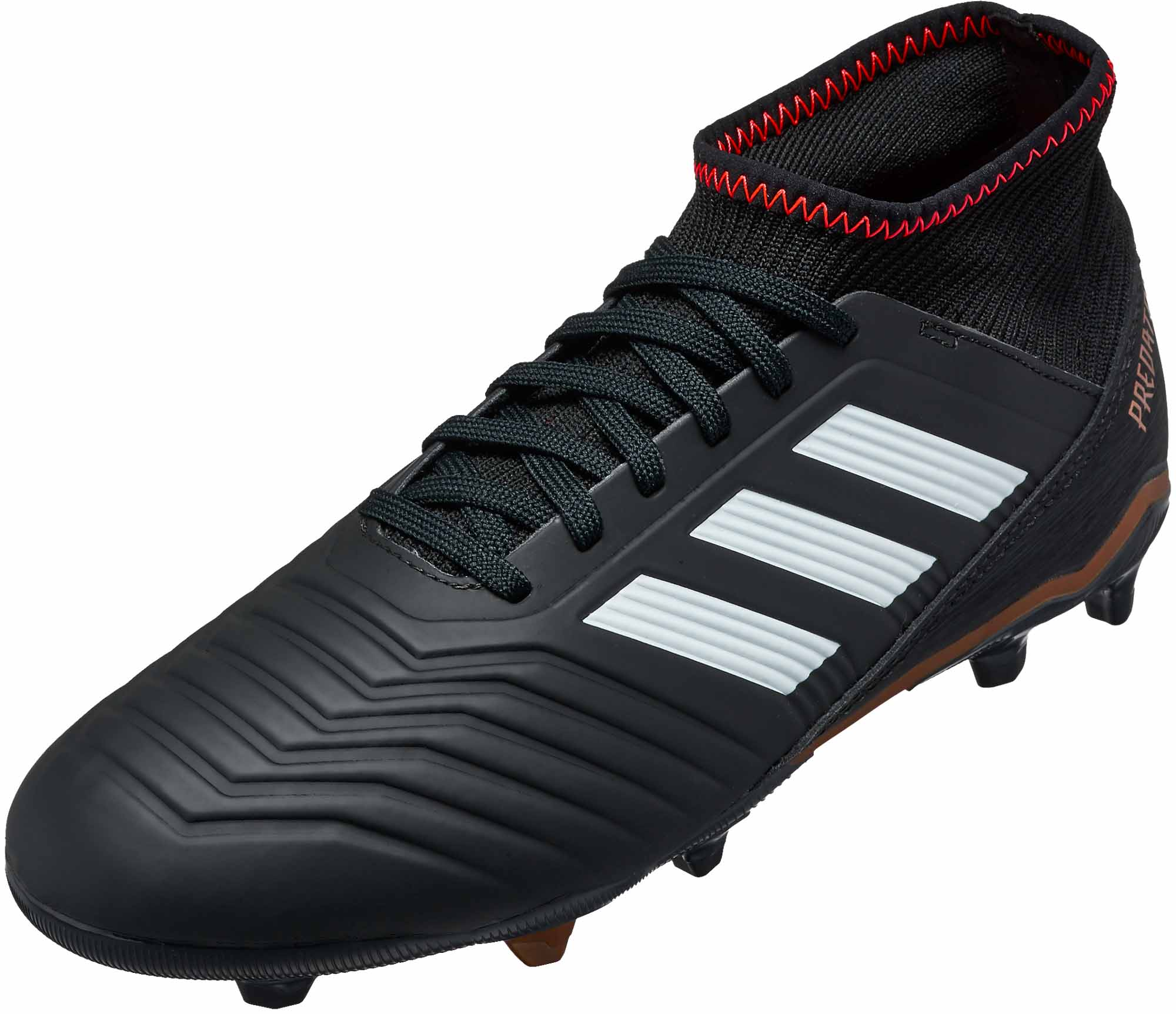 66c9ff209753 Kids adidas Predator 18.3 - Youth Black Soccer Cleats