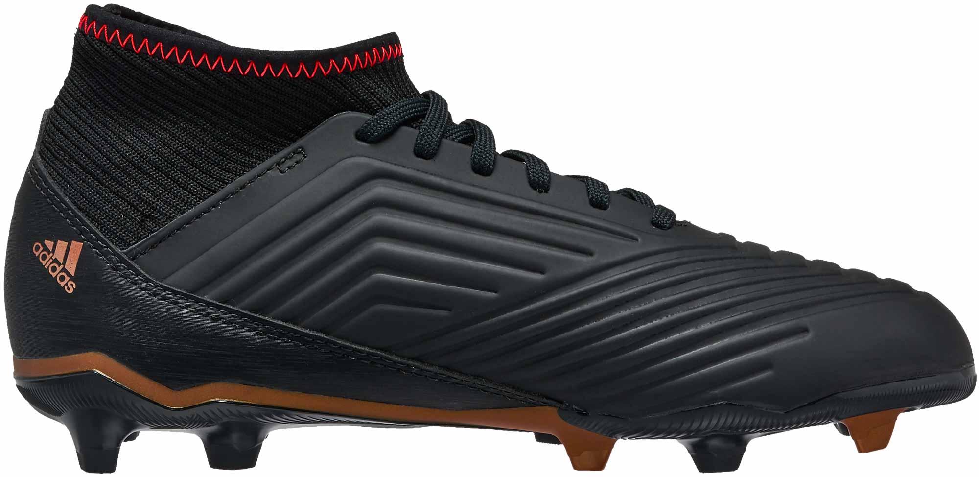 Adidas Zapatos De Fútbol Para Niños De Depredadores WvGSnG2lpH
