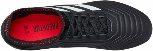 adidas Kids Predator 18.3 FG – Black/Solar Red