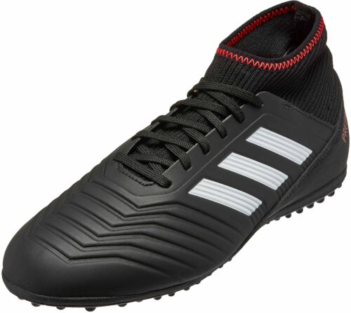 adidas Kids Predator Tango 18.3 TF – Black/Solar Red