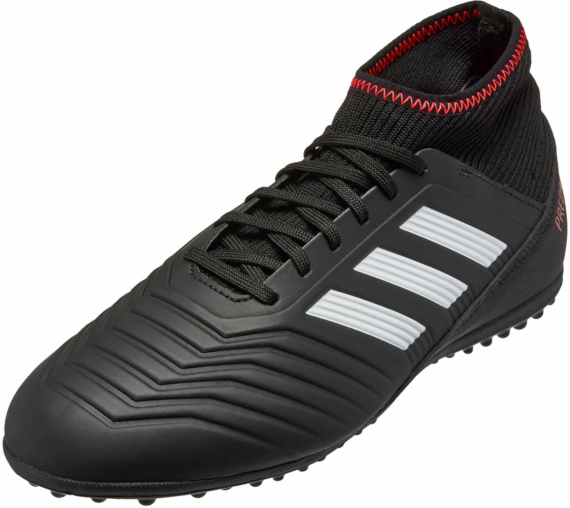 7a4173dd32173 adidas Kids Predator Tango 18.3 TF – Black/Solar Red
