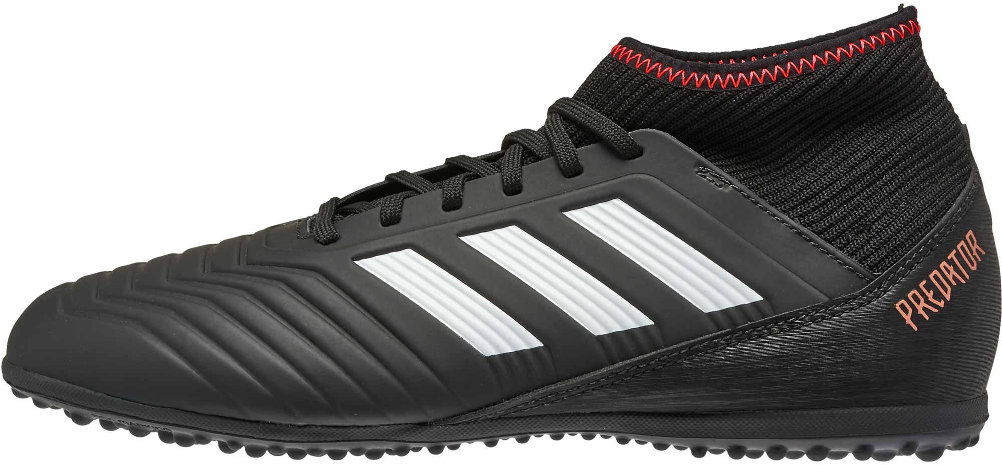 b140fa9aa adidas Kids Predator Tango 18.3 TF - Black/Solar Red - SoccerPro