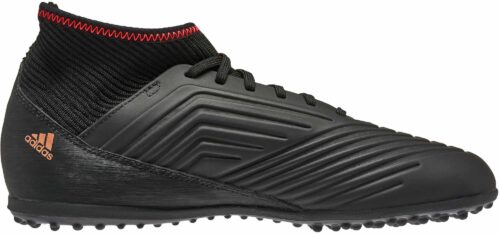 adidas Kids Predator Tango 18.3 TF – Black/Solar Red