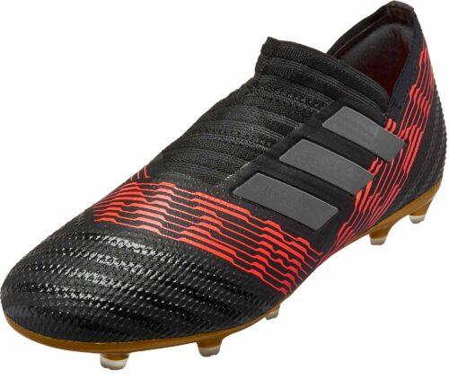 adidas Kids Nemeziz 17  FG – Black/Solar Red