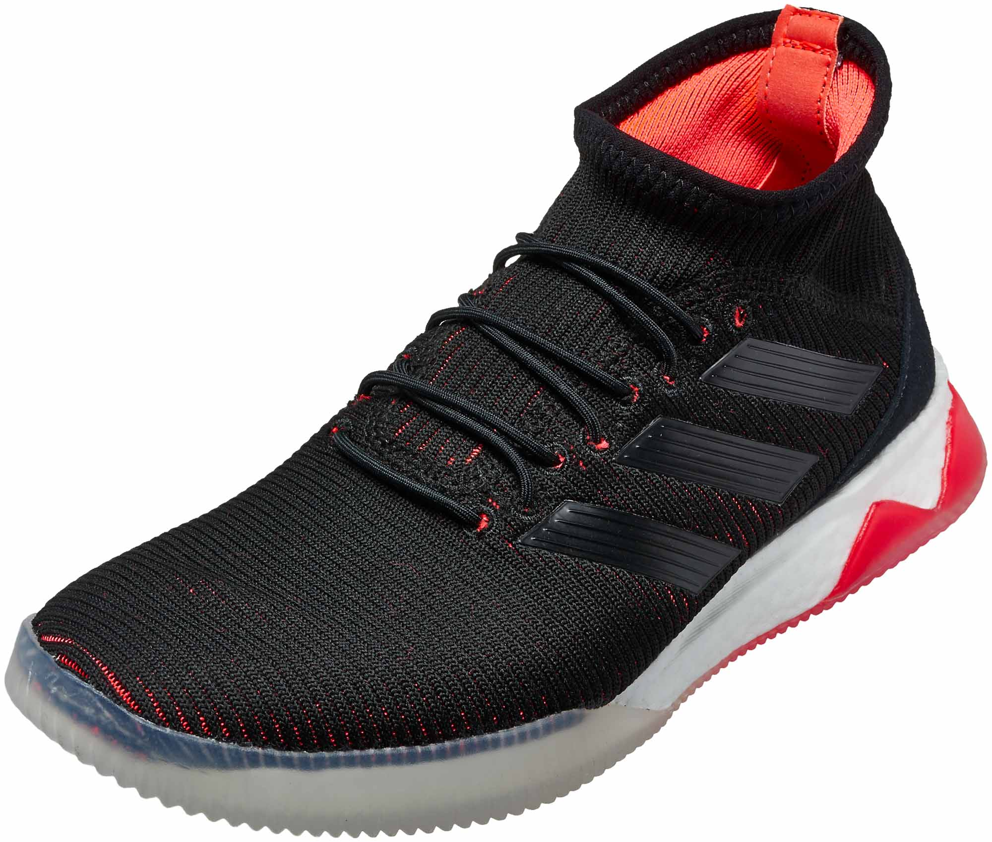 buy popular 750ab 10fe5 adidas Predator Tango 18.1 TR – Black Solar Red