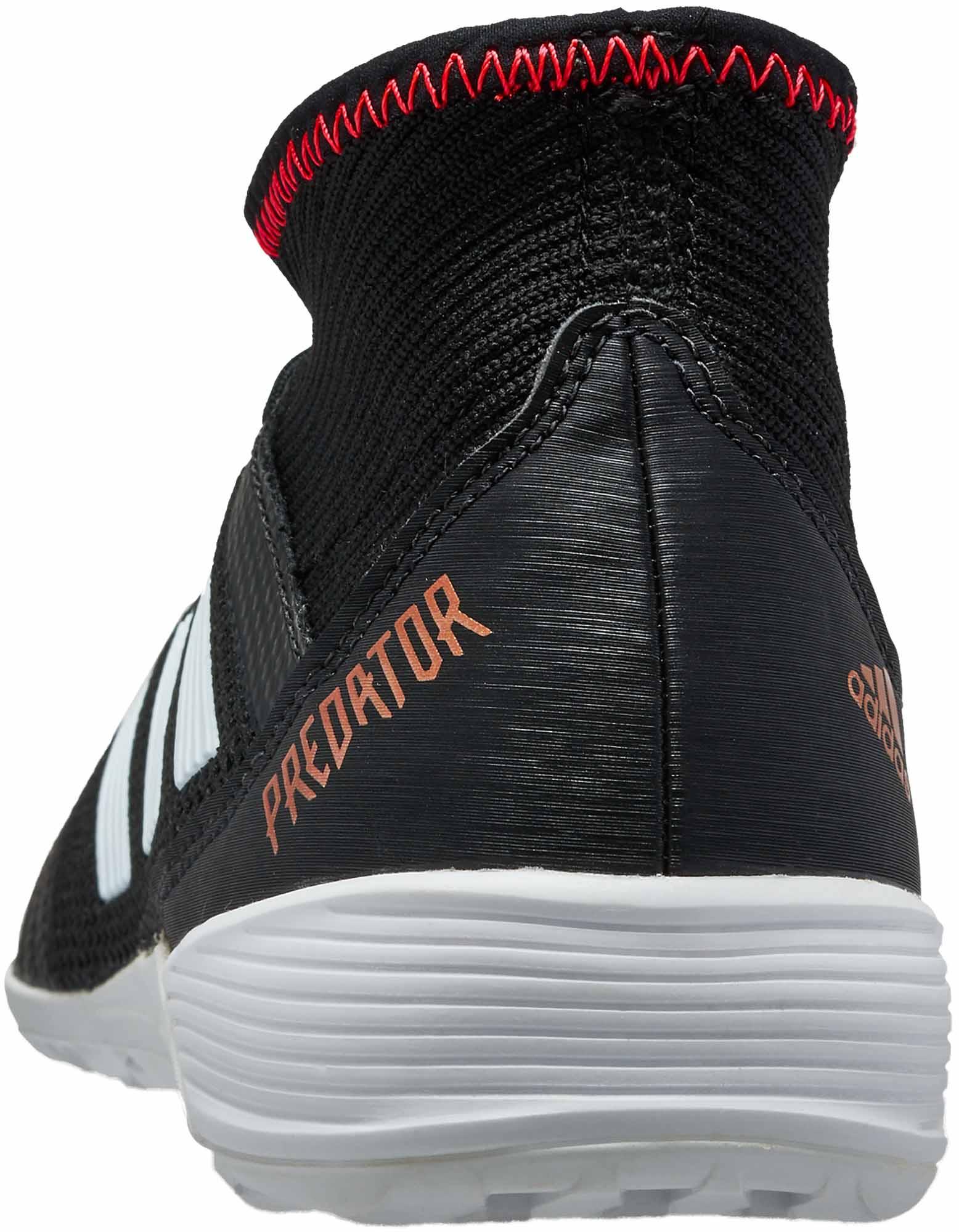 ea65fbe122eb adidas Predator Tango 18.3 IN - Black Indoor Shoes