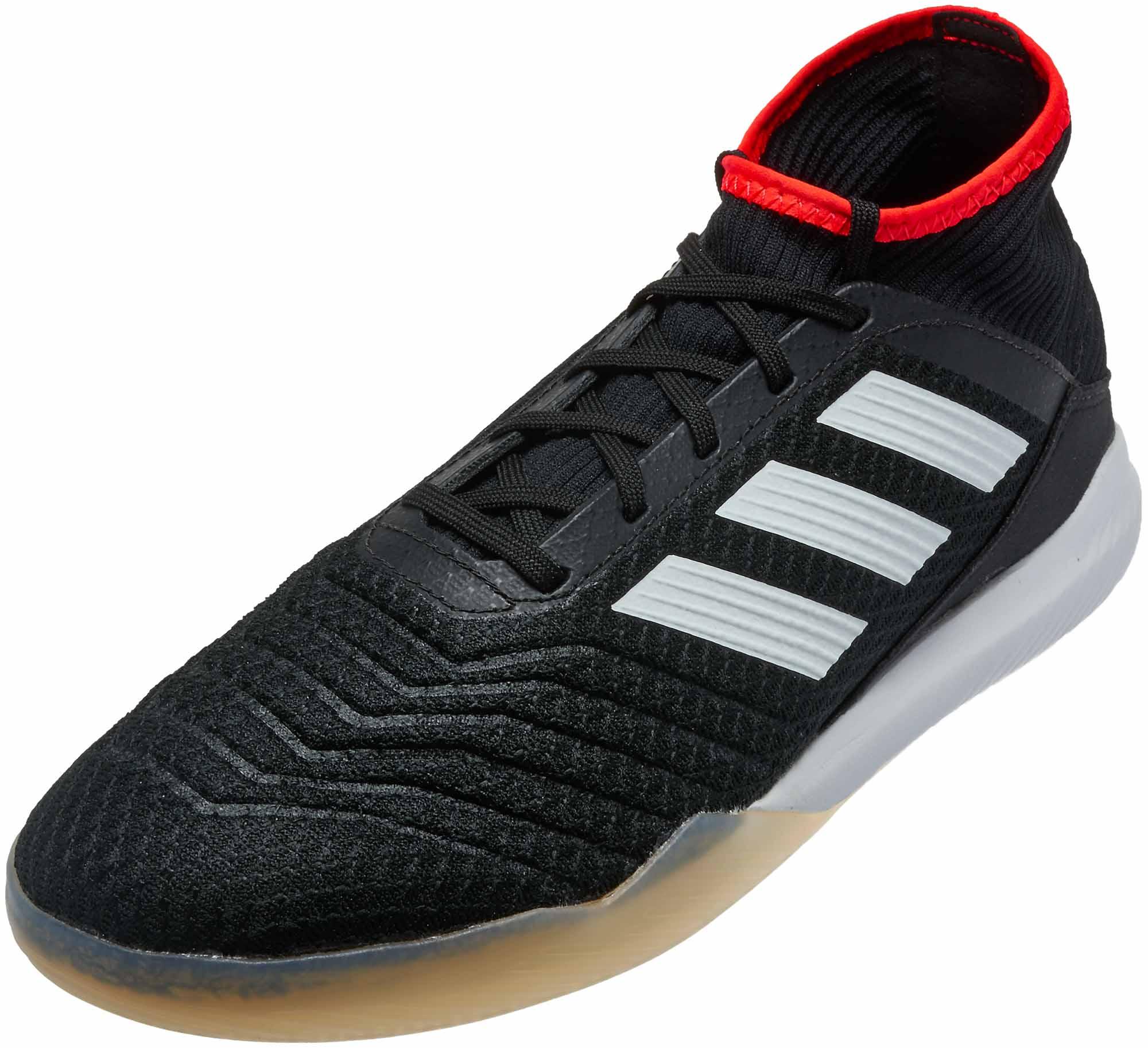 a928f34288380 adidas Predator Tango 18.3 TR - Black   Solar Red