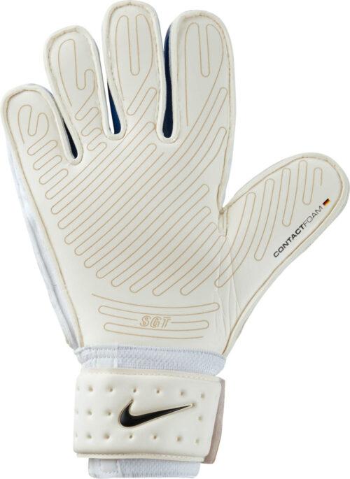 Nike Premier SGT Goalkeeper Gloves – White/Photo Blue