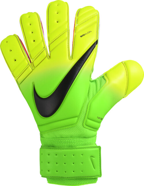 Nike Premier SGT Goalkeeper Gloves – Electric Green/Volt