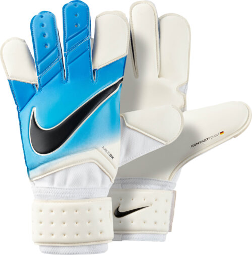 Nike Vapor Grip 3 Goalkeeper Gloves – White/Photo Blue
