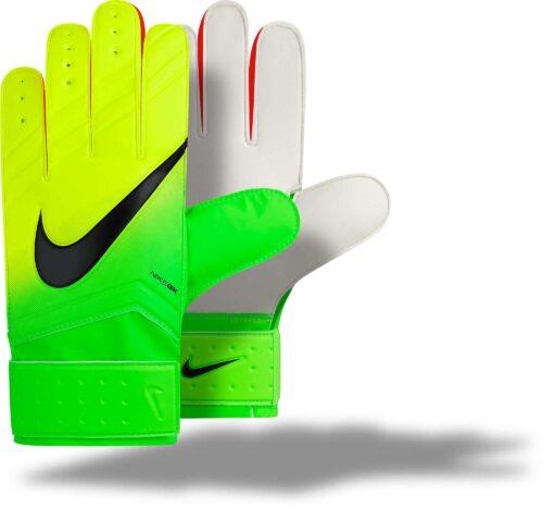 Nike Match Goalkeeper Gloves – Electric Green/Volt