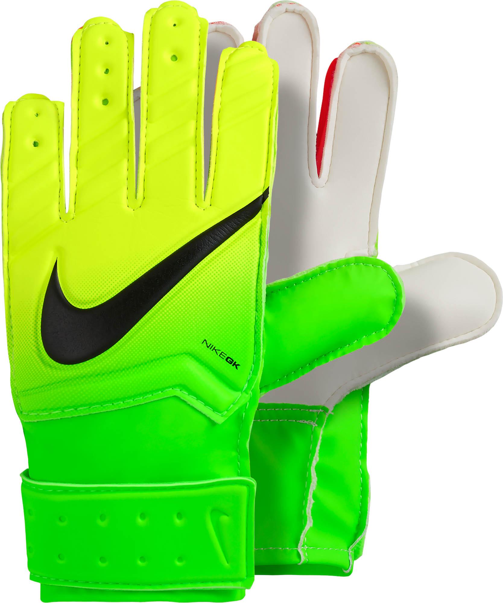 Nike Kids Match Goalie Gloves Nike Goalkeeper Gloves