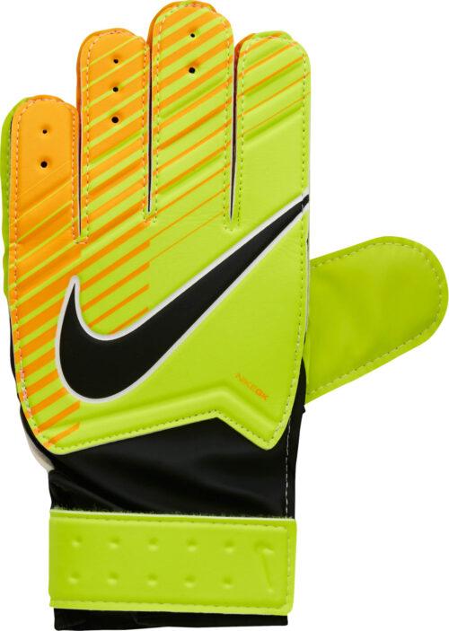 Nike Kids Match Goalkeeper Gloves – Volt/Laser Orange
