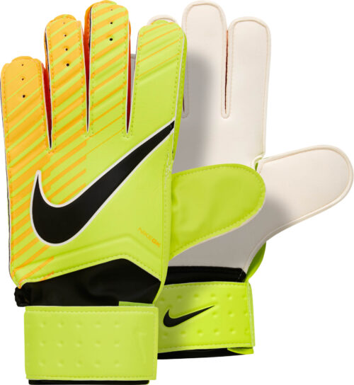 Nike Match Goalkeeper Gloves – Volt/Laser Orange
