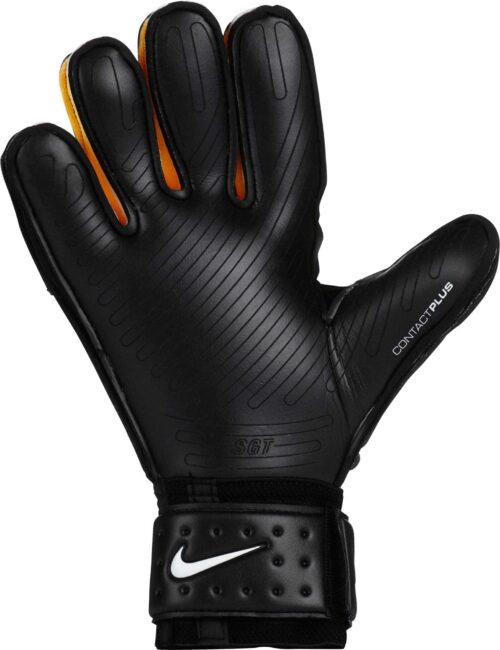 Nike Premier SGT Goalkeeper Gloves – Black/Laser Orange