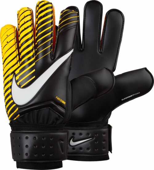 Nike Spyne Pro Goalkeeper Gloves – Black/Laser Orange