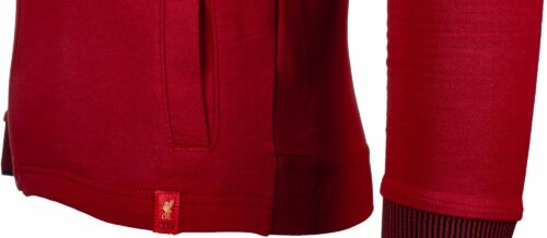 New Balance Kids Liverpool Travel Hoody – Red Pepper