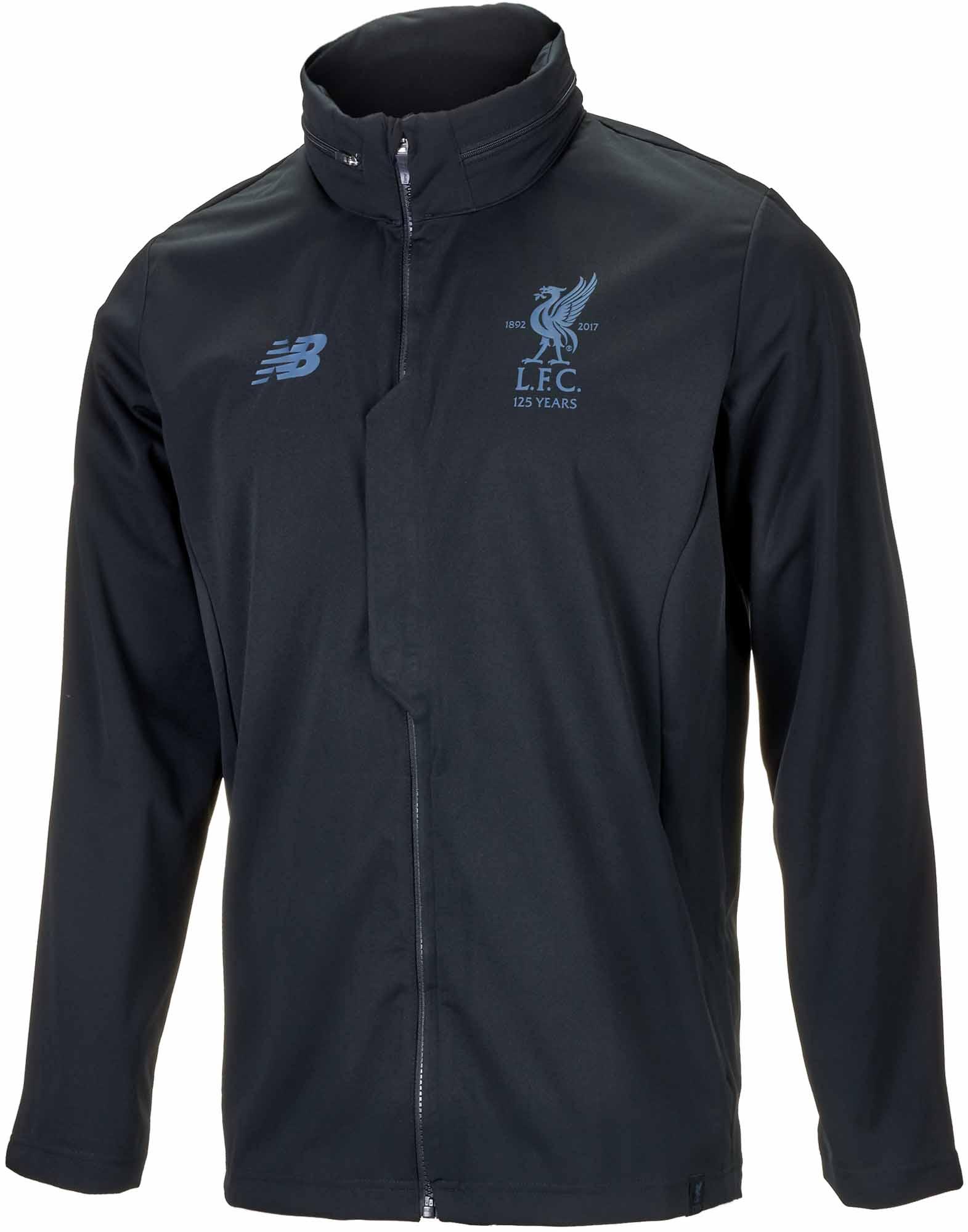 06d5ba056 New Balance Liverpool Rain Jacket – Black