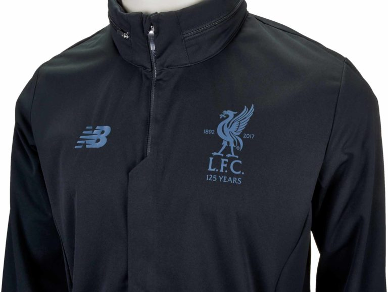 New Balance Liverpool Rain Jacket – Black