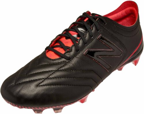 New Balance Furon 3.0 FG – K-Leather – Black/Energy Red