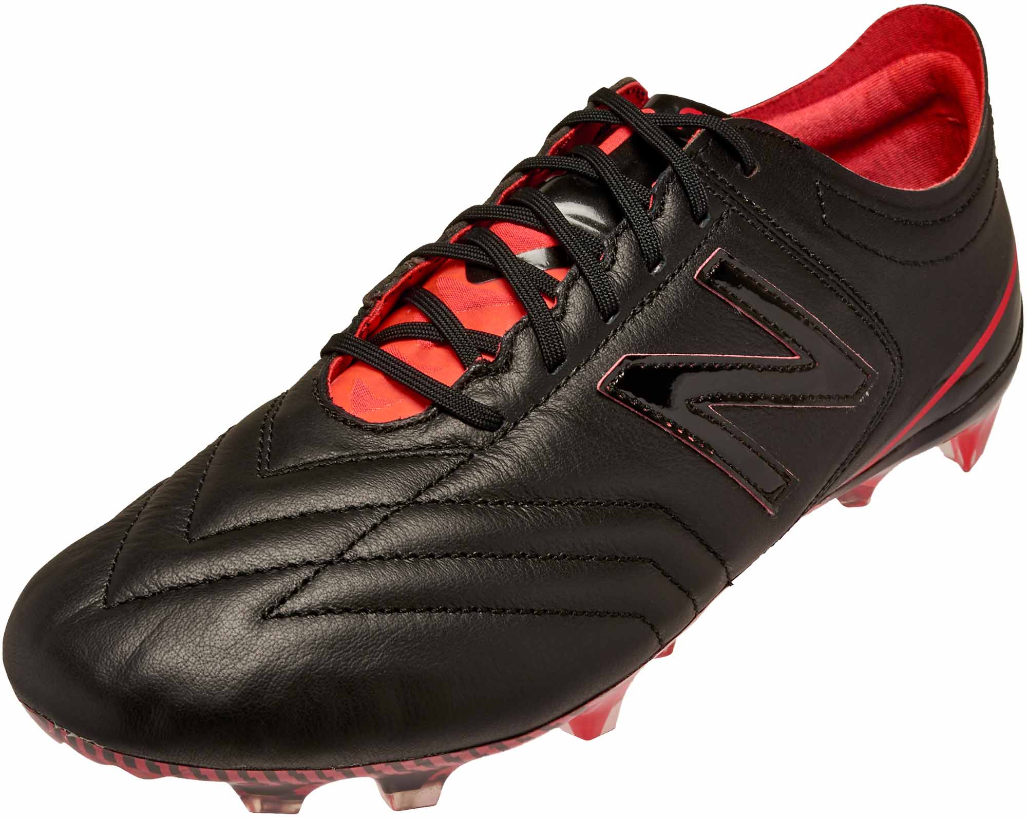 c6a9dd358fb4d New Balance Furon 3.0 FG – K-Leather – Black/Energy Red