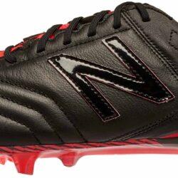 59f1f85b409 New Balance Furon 3.0 FG K-Leather - Black Soccer Shoes
