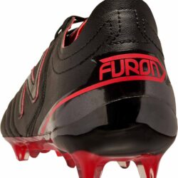 8be6891f062 New Balance Furon 3.0 FG K-Leather - Black Soccer Shoes