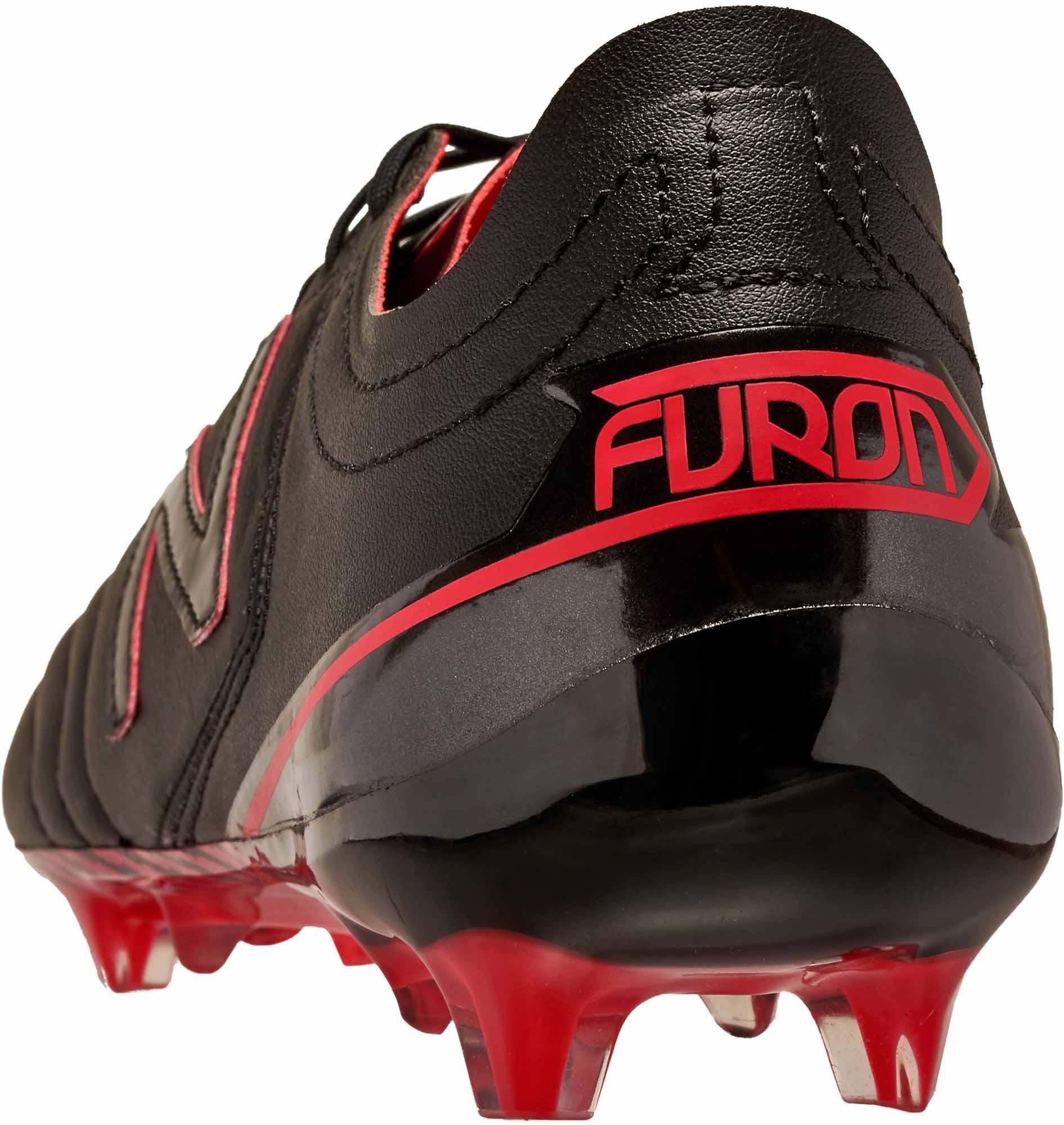 c6a9dd358fb4d New Balance Furon 3.0 FG – K-Leather – Black/Energy Red