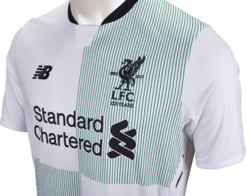 2017/18 New Balance Kids Liverpool Away Jersey