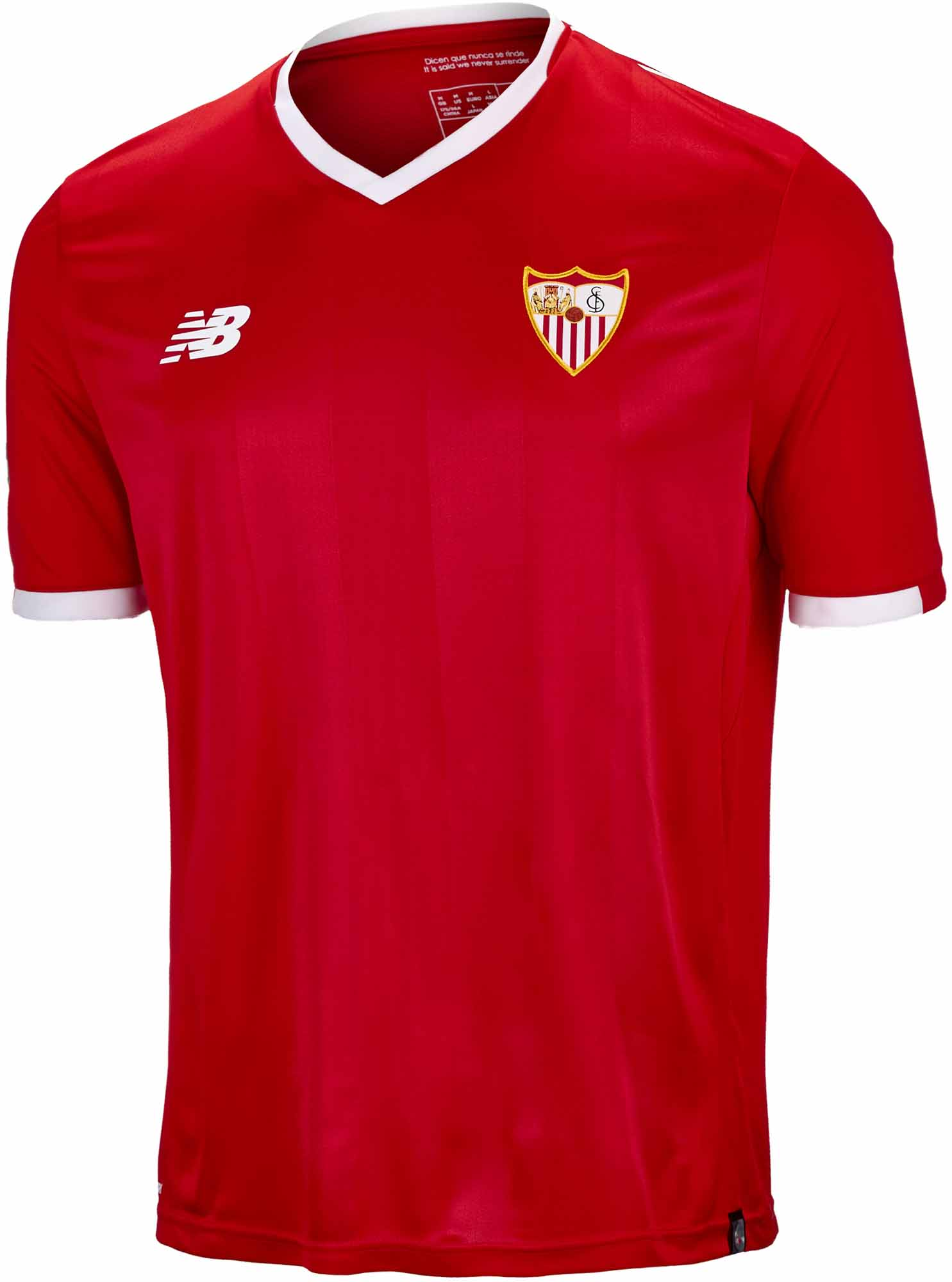 205782bd3 2017 18 New Balance Sevilla Away Jersey - SoccerPro.com