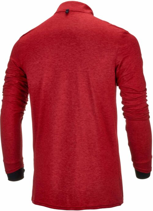 New Balance Liverpool Mid-Layer Top – Red Pepper Marl