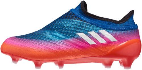 adidas Kids Messi 16  Pureagility FG – Blue/White