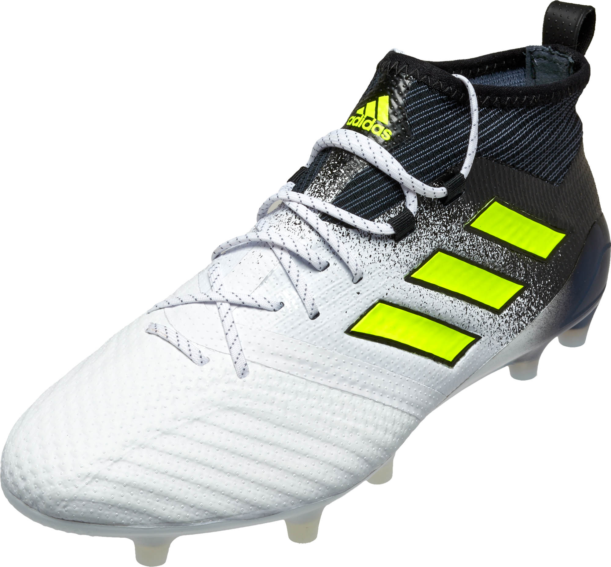 627f28a37 adidas ACE 17.1 FG - White adidas ACE Soccer Cleats