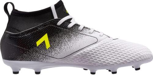 adidas Kids ACE 17.3 FG – White/Solar Yellow