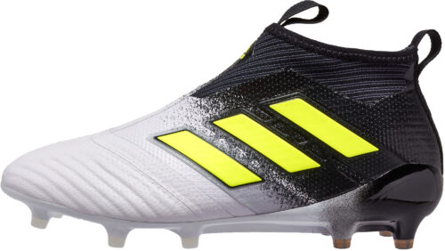 adidas ACE 17  Purecontrol FG – White/Solar Yellow
