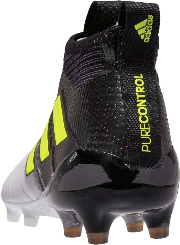 adidas ACE 17+ Purecontrol FG – White/Solar Yellow