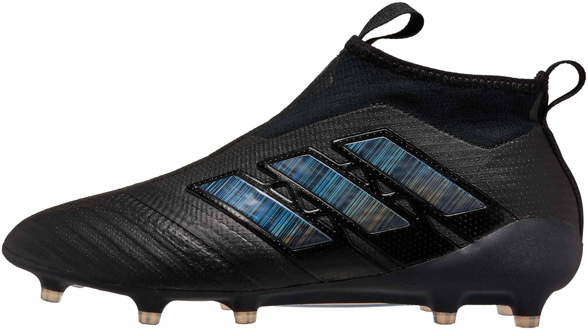 adidas ACE 17+ Purecontrol FG – Black/Utility Black