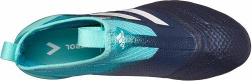 adidas Kids ACE 17  Purecontrol FG – Energy Aqua/White