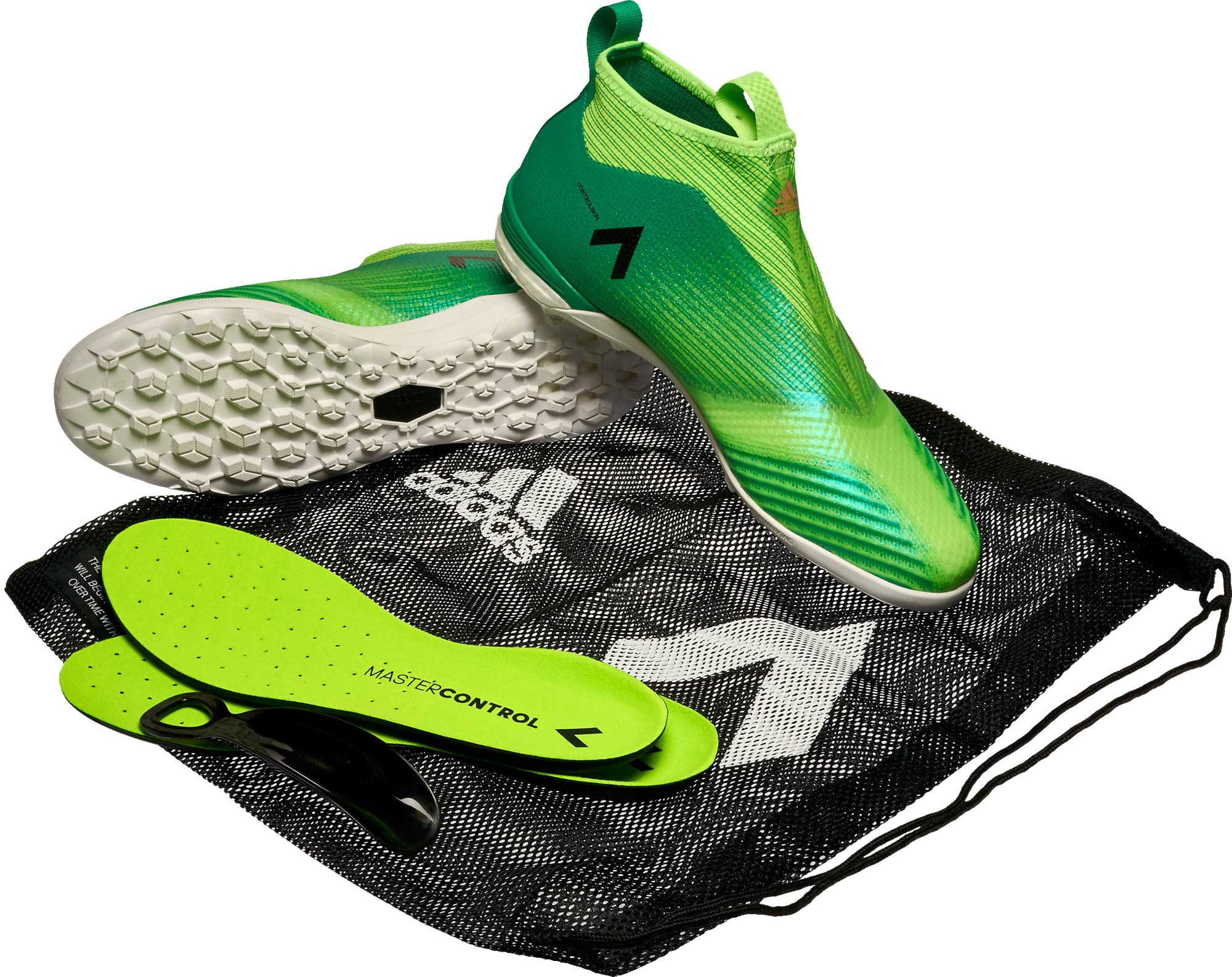 adidas ACE Tango 17 Purecontrol Green Turf Shoes