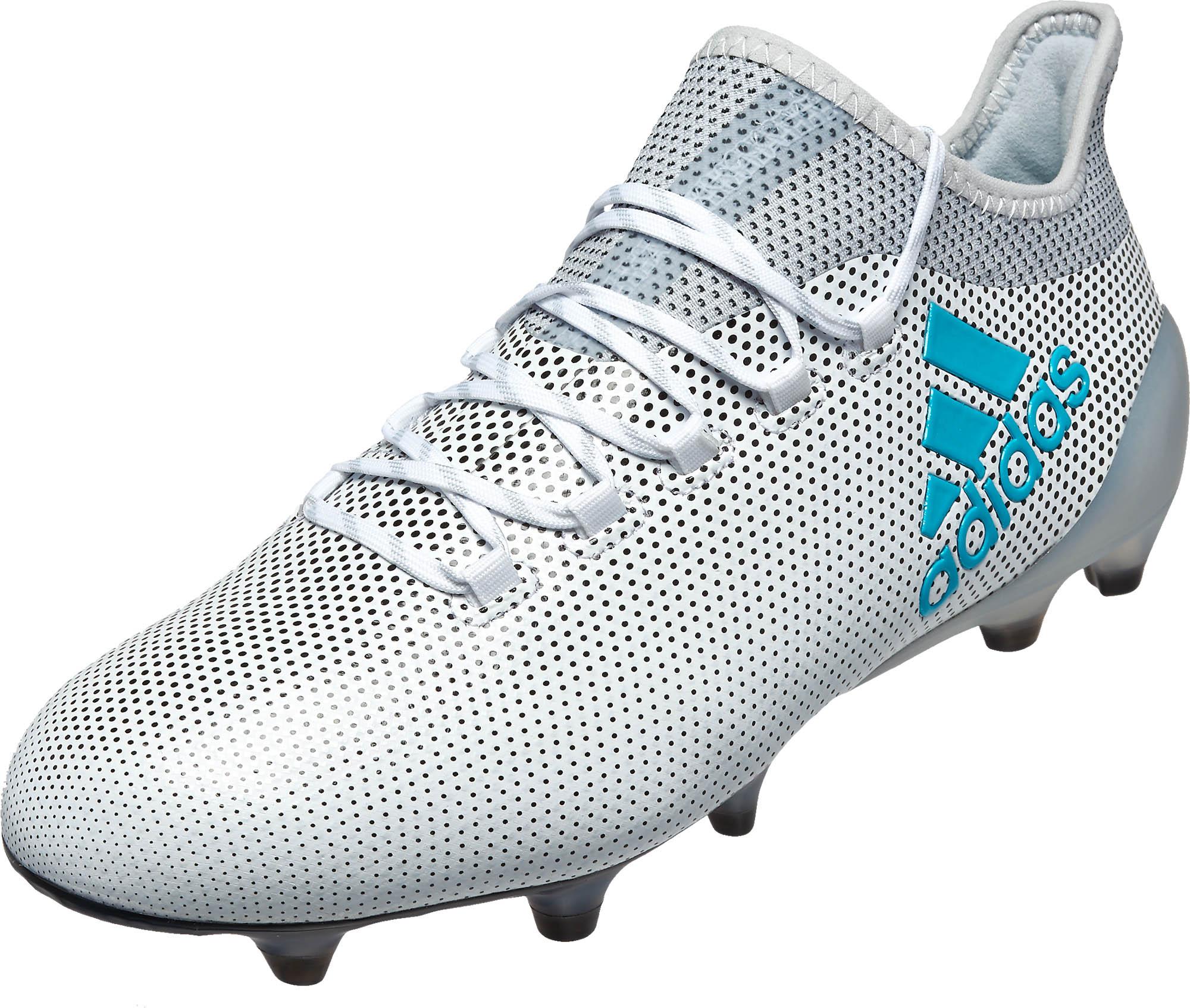 pretty nice c8166 f038a adidas X 17.1 FG – White/Energy Blue