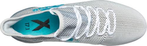adidas X 17.1 FG – White/Energy Blue