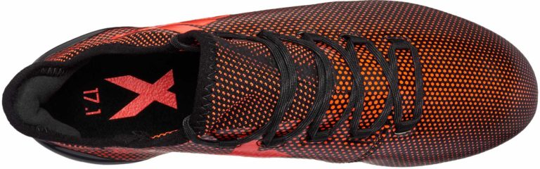 adidas X 17.1 FG – Core Black/Solar Red